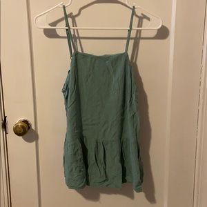 S soft green mossimo supply co tank